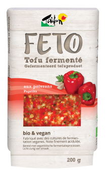 Feto tofu fermenté aux poivrons, Taifun (200 g)