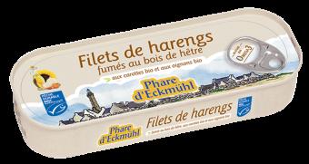 Filets de harengs fumés aux carottes et aux oignons, Phare d'Eckmuhl (150 g)