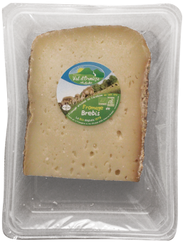 Tomme de brebis, 21% MG/PF BIO, Fromagerie Val d'Orm (150 g)