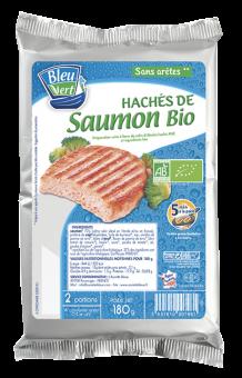 Haché de saumon BIO, Bleu-Vert (x 2, 180 g)