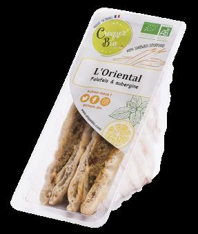 Sandwich le Vegan Oriental, Etape Bio (160 g)