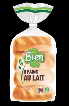 Pain au lait BIO, Bien Panification (x 8, 280 g)