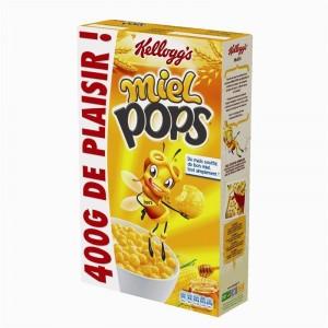Céréales Miel Pops, Kellogg's (400 g)