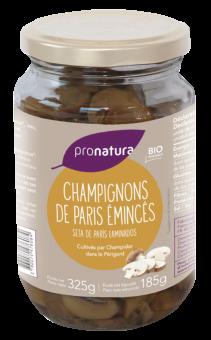 Champignons de Paris émincés, Pronatura Gamme  Pro (325 g)