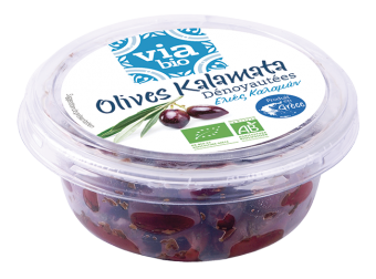 Olives Kalamata dénoyautées BIO, Via bio (115 g)