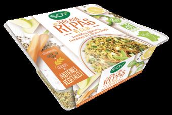 Salade veggie lentilles, quinoa, pommes et citron confit BIO, Soy (220 g)
