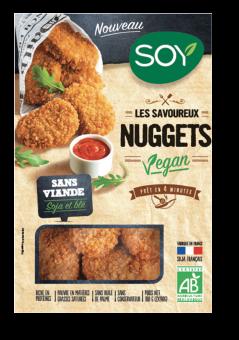 Nuggets vegan, Soy (x 6, 170 g)