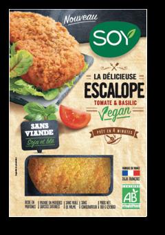 Escalope tomate basilic vegan, Soy (176 g)