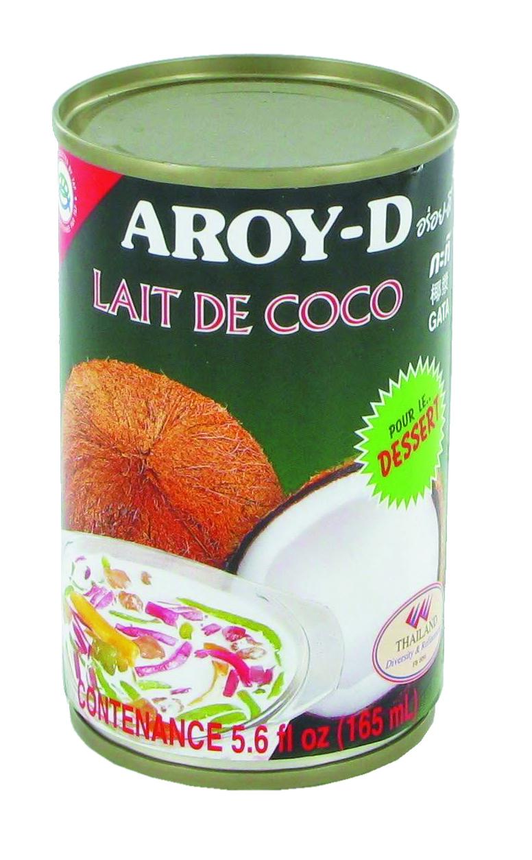 Lait de coco Aroy-D en boîte (16,5 cl)