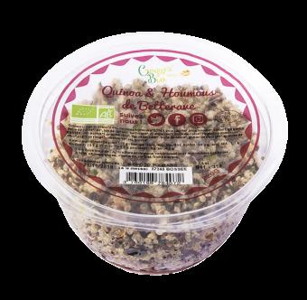 Salade de quinoa et houmous de betterave BIO, Etape Bio (220 g)