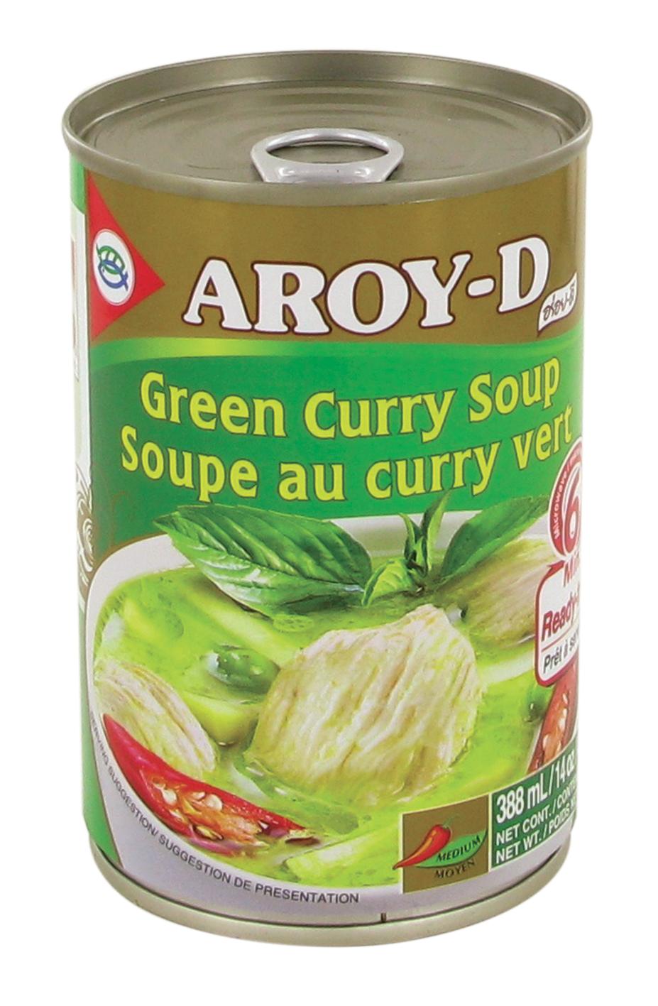 Soupe au curry vert, Aroy-d (400 g)