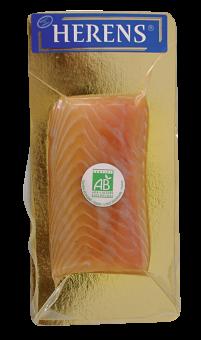 Coeur de saumon fumé BIO, Irlande ou Ecosse selon arrivage, Herens (150 g)