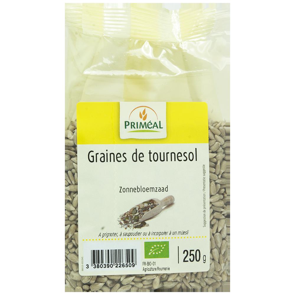 Graines de tournesol BIO, Priméal (250 g)