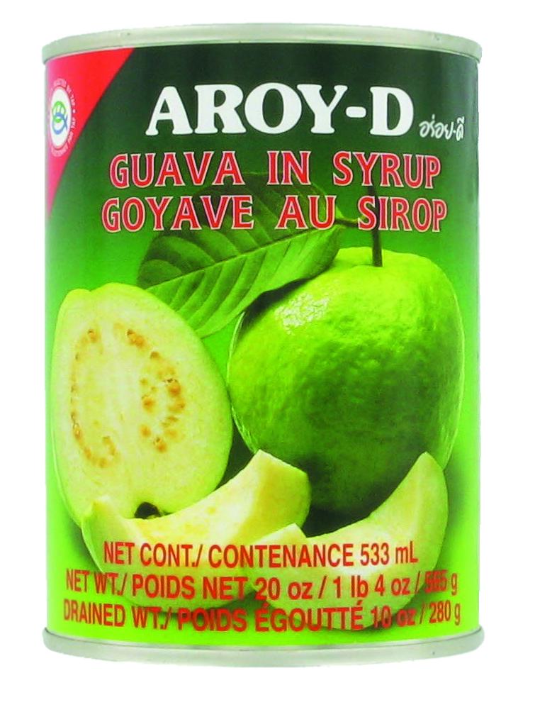 Goyaves au sirop, Aroy-d (565 g)