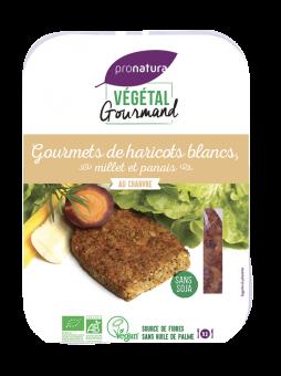 Gourmets de haricots blancs, millet et panais, au chanvre, Végétal Gourmand (x 2, 180 g)