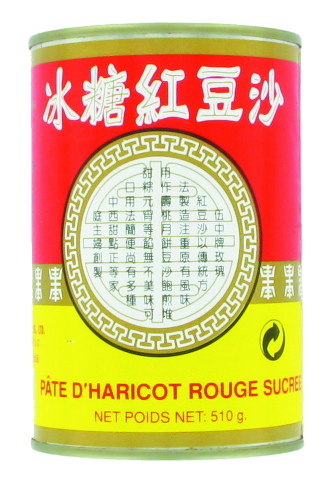 Pâte de haricot rouge sucrée, Wu Chung (510 g)