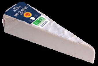 Brie de Meaux AOP BIO au lait cru, 20 % MG/PF, Lait Plaisirs (170 g)