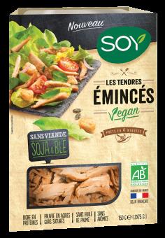 Emincés nature vegan, Soy (150 g)