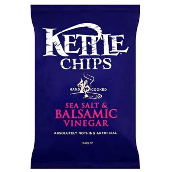 Chips vinaigre balsamique et sel marin, Kettle Chips (150 g)