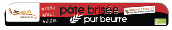 Pâte brisée pur beurre BIO, Biobleud (250 g)