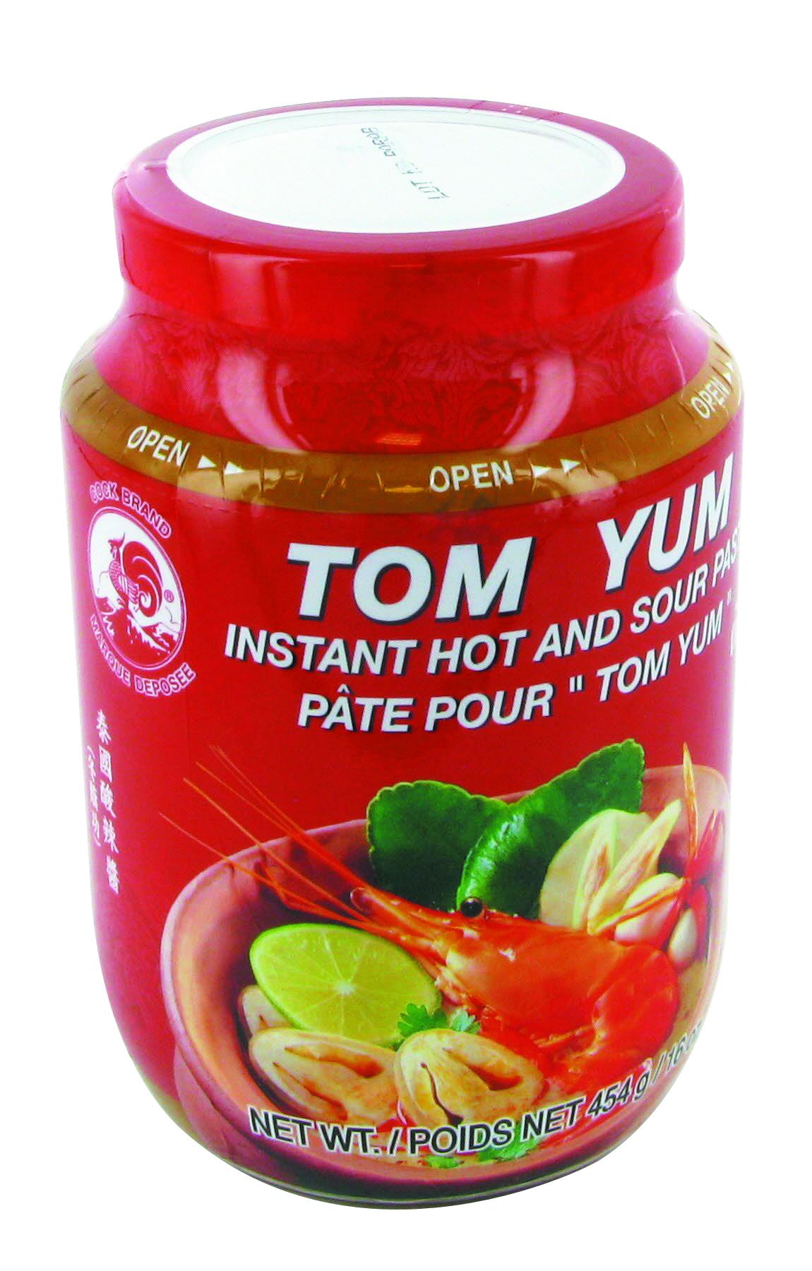 """Pâte pour """"Tom Yum"""", Cock (454 g)"""