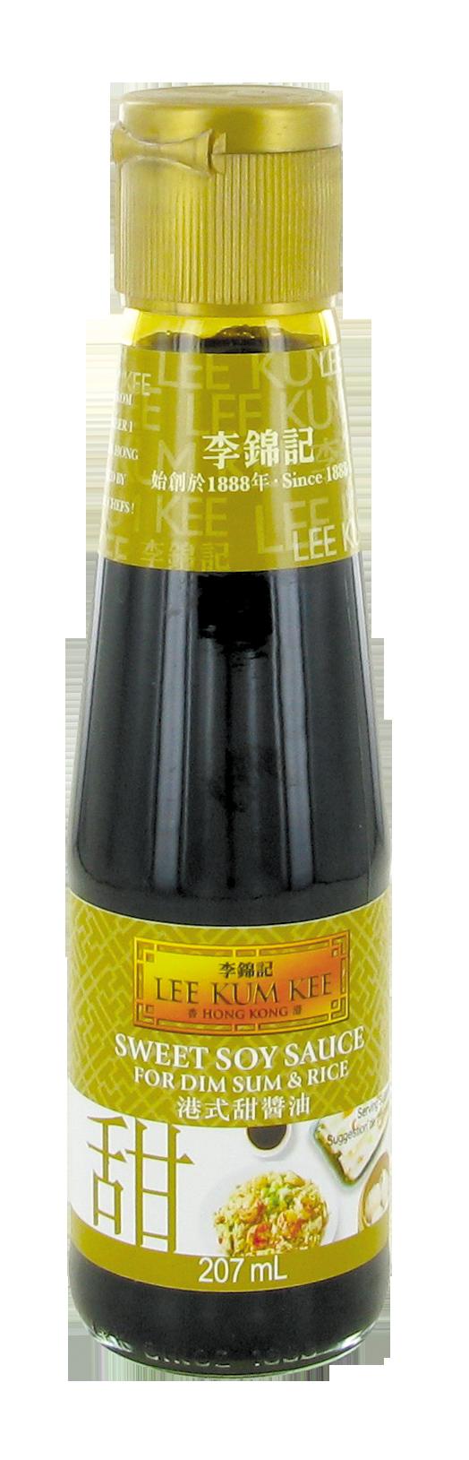 Sauce soja sucrée pour dim, sum & riz, Lee kum kee (207 ml)