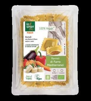 Ravioli d'épeautre aux légumes, La Spiga Bio (250 g)