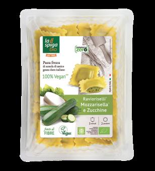 Ravioli MozzaRisella et courgettes, La Spiga Bio (250 g)