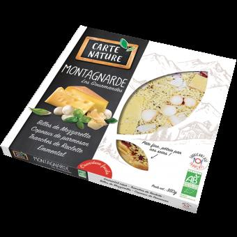 Pizza montagnarde BIO, Carte Nature (350 g)