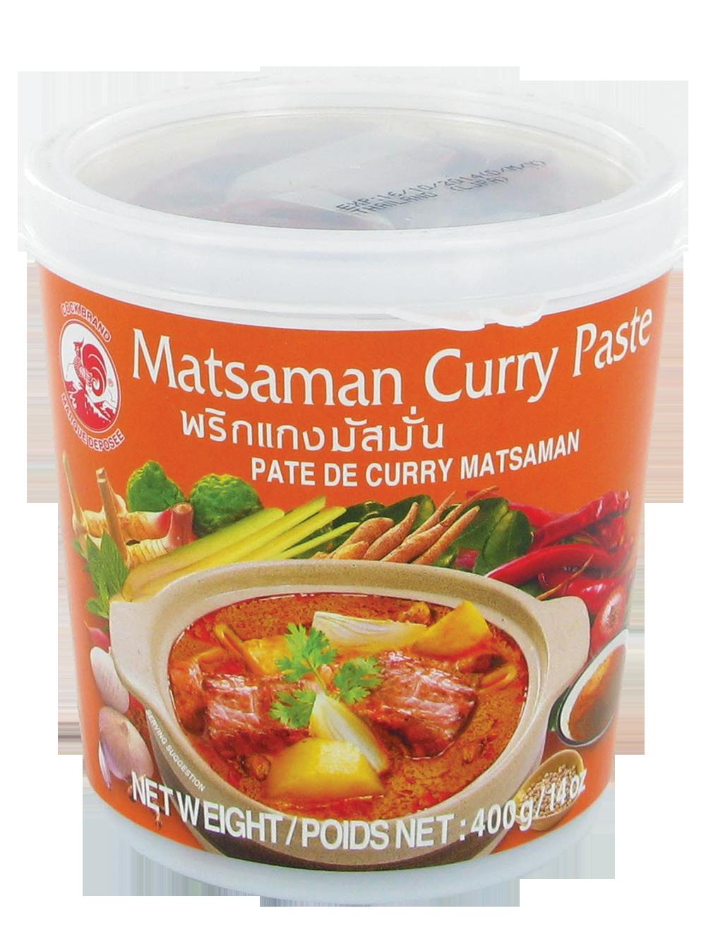Pâte de curry matsaman, Cock (400 g)