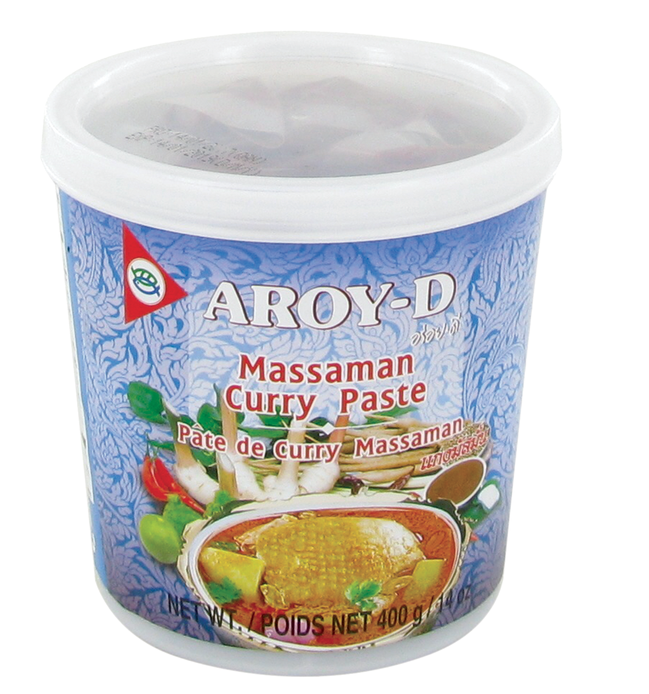Pâte de curry massaman, Aroy-d (400 g)