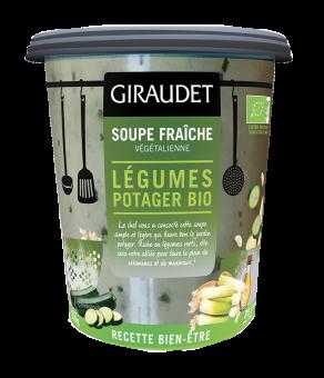 Soupe légumes du potager en bol BIO, Giraudet (350 g)
