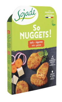 So nuggets tofu légumes BIO, Sojade (160 g)