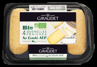 Quenelles au comté BIO, Giraudet (320 g)