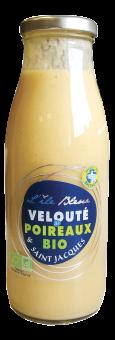 Velouté de poireaux et Saint Jacques BIO, Ile Bleue (490 g)