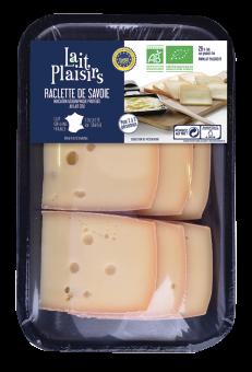 Raclette de Savoie IGP BIO au lait cru, 29 % MG/PF, Lait Plaisirs (300 g)