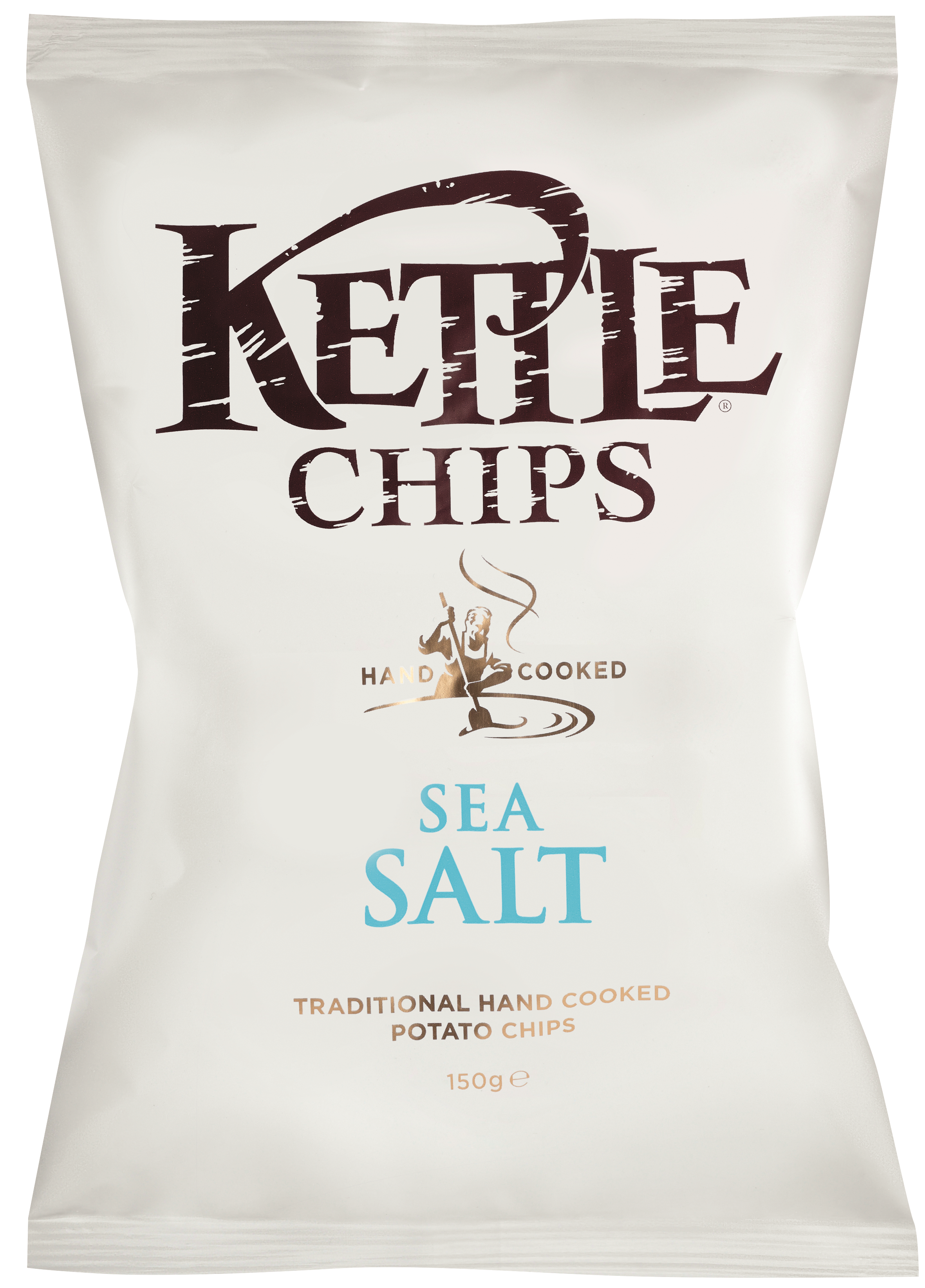 Chips au sel marin, Kettle Chips (150 g)