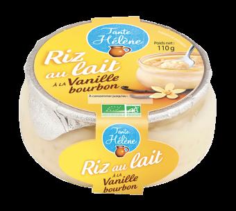 Riz au lait à la vanille BIO, Tante Hélène (110 g)