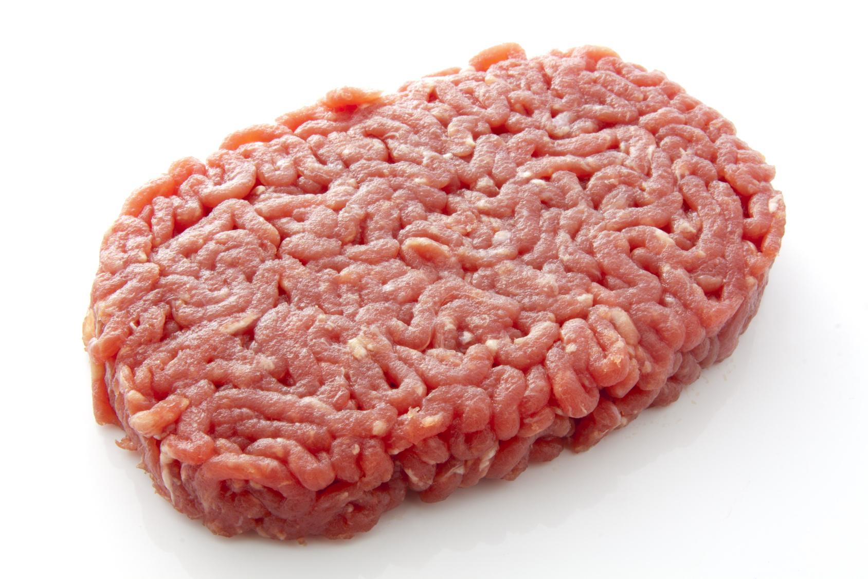 Steak haché de boeuf (x 2, environ 250 g)