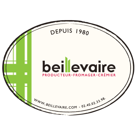 Fromage frais au pruneau, Beillevaire (150 g)