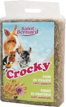 Foin de prairie, Crocky Saint-Bernard (1 kg)