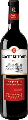 Bordeaux AOC Roche Belfond 2015, Médaille d'or 2016 (75 cl)