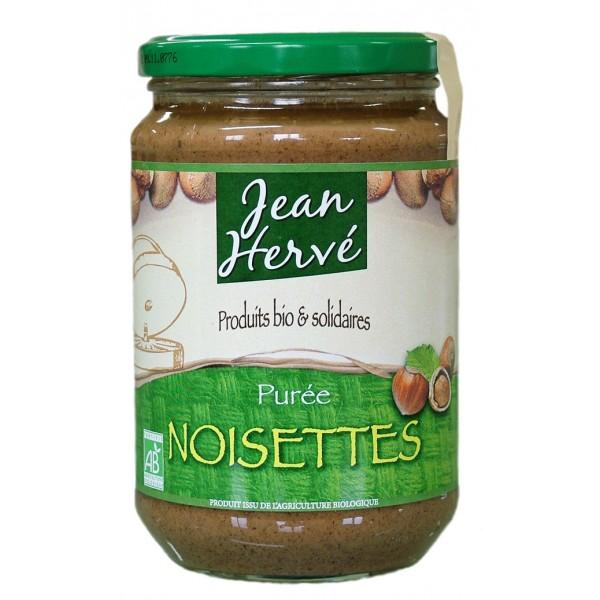 Purée de noisettes Bio Jean Hervé (350 g)