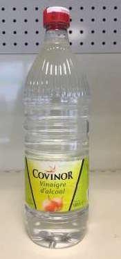 Vinaigre Cristal 8°, Covinor (1 L)