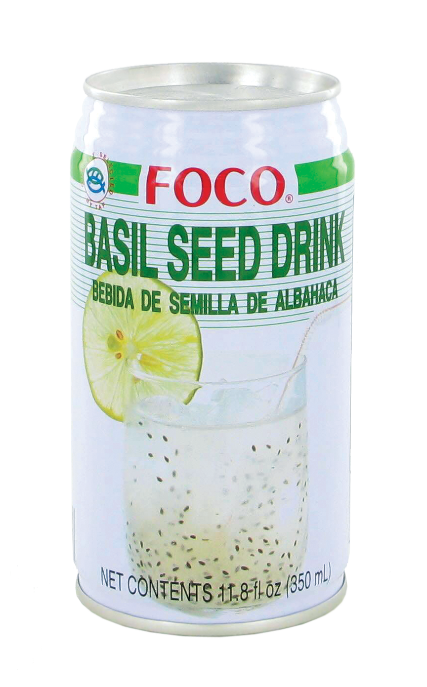 Boisson aux graines de basilic, Foco (35 cl)