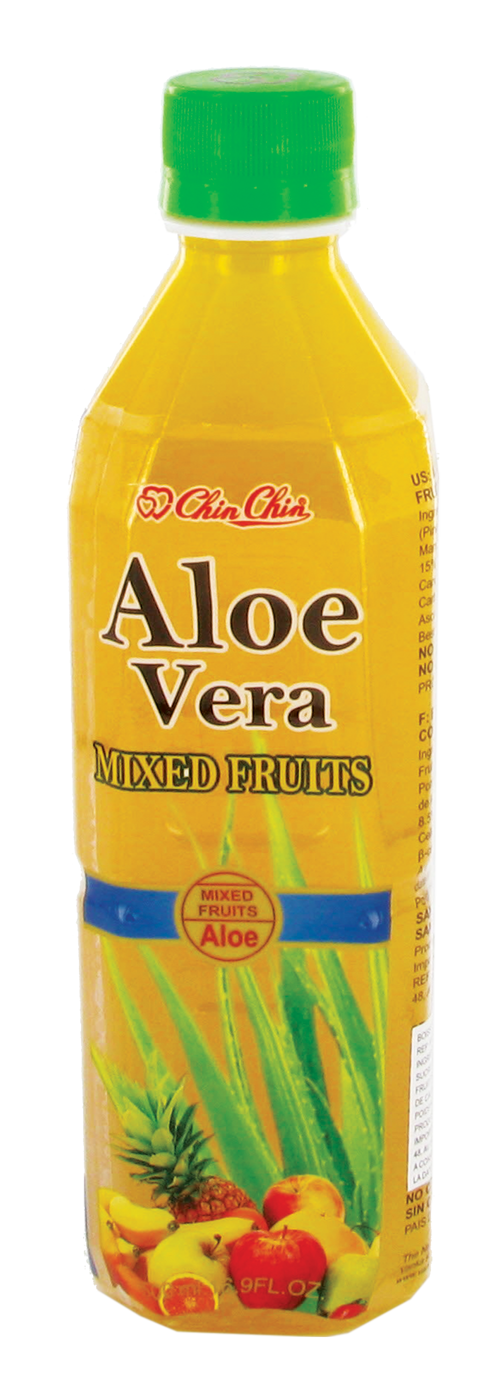 Boisson au jus d'aloe vera & multifruits, Chin Chin (50 cl)