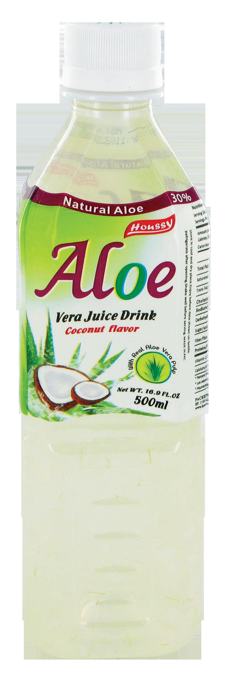 Boisson à l'aloe vera et à la noix de coco, Houssy (500 ml)
