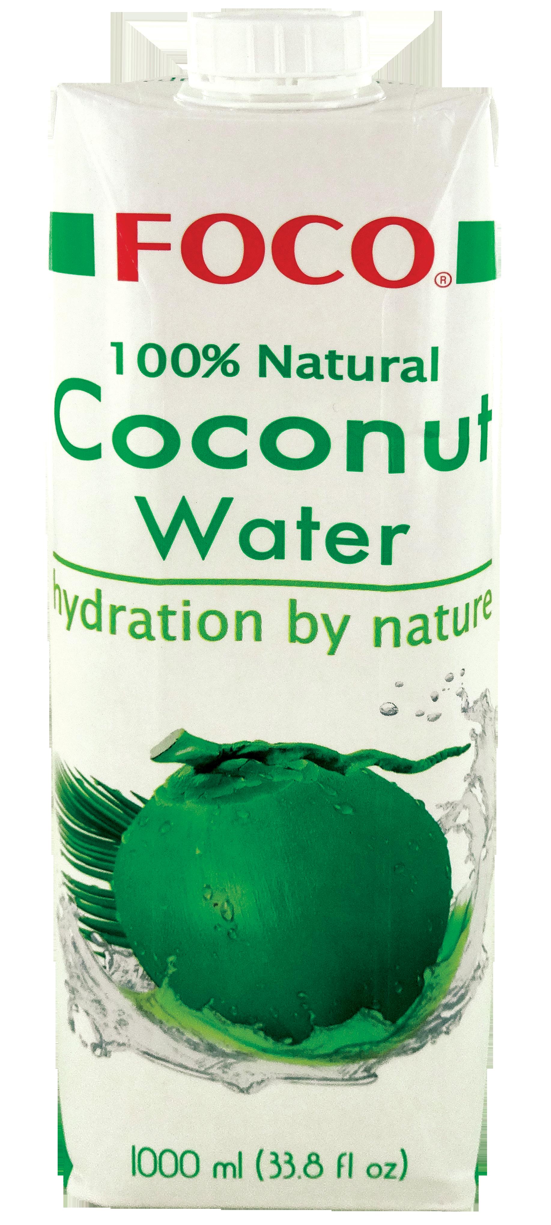 Eau de coco, Foco (1 L)