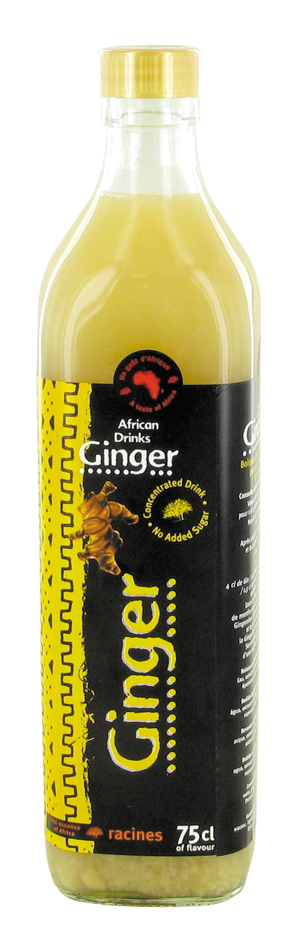 Jus concentré de gingembre (750 ml)