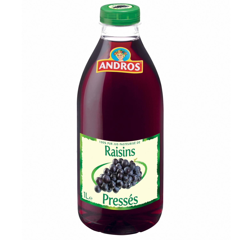 Jus de raisin pressé frais, Andros (1 L)